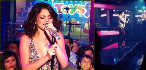 Selena Gomez  2012  New Year's