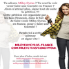 Signe la pétition pour voir MileyClic ici pour la signée
