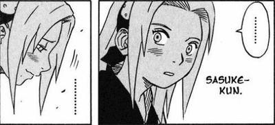 Sasuke smile ? Son choix est fait ! xD