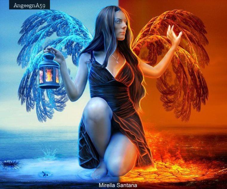Mi anges mi demons half angel half devil - 3 part 4