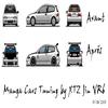 """Un ptit virtual """"Manga Car"""" fait en 1 aprém!"""