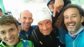 Les traileurs bravent la pluie au Trail de l'Escouissier