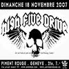 HIGH FIVE DRIVE en concert au Piment Rouge/GVA!