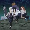 Sasuke ; Suigetsu ; Jûgo et karin