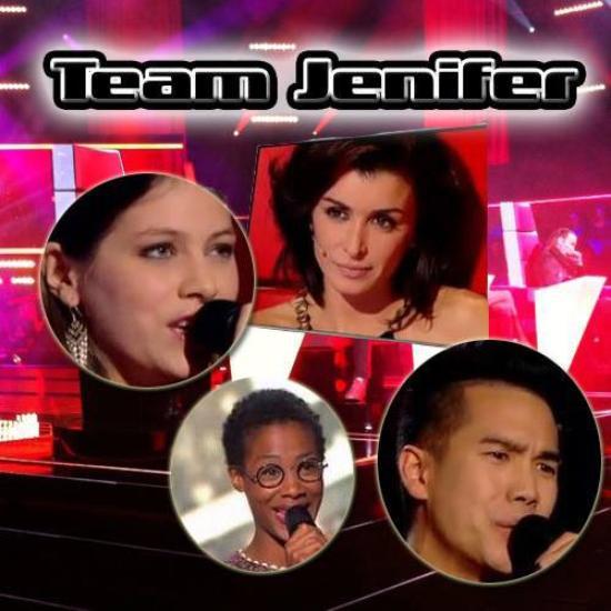 Jenifer » The Voice » Prime 3: Les Auditions A L'Aveugle [25/01/14]