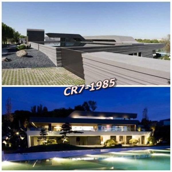 voici des photos de la maison de cristiano ronaldo a madrid blog de ronaldo du 59885. Black Bedroom Furniture Sets. Home Design Ideas