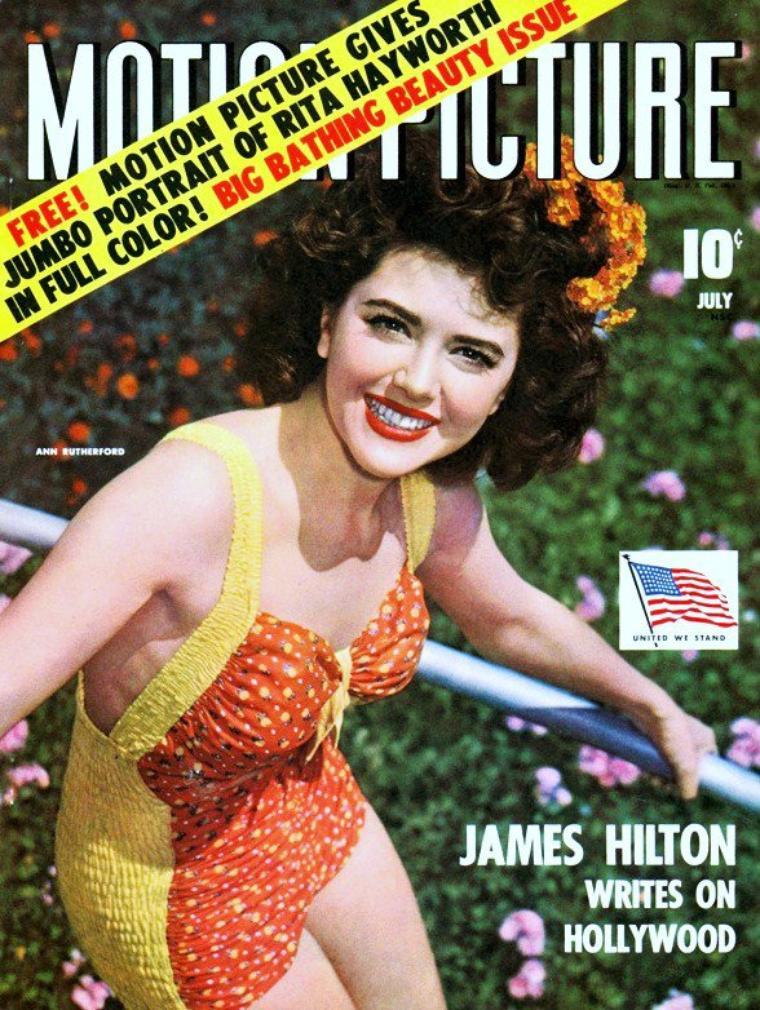 Ann RUTHERFORD est une actrice canadienne et américaine née le 2 novembre 1920 à Vancouver (Canada), décédée le 11 Juin 2012 à Beverly-Hills.