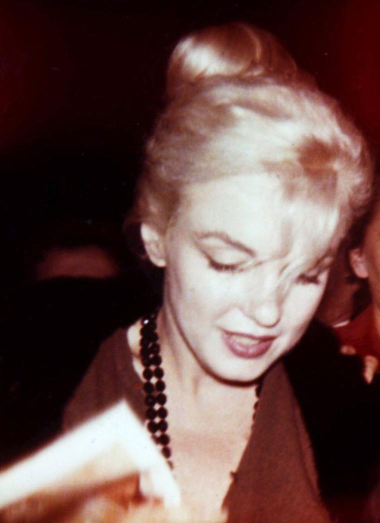 LES INEDITES de Marilyn...