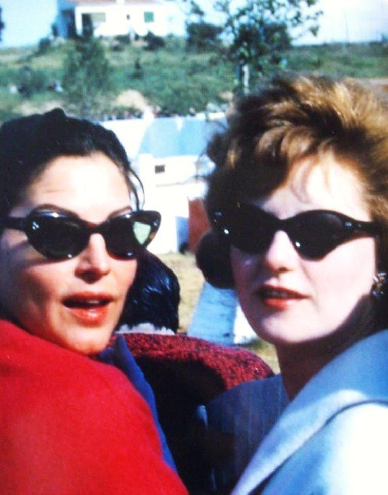 Private life... (de haut en bas) Brigitte BARDOT / Grace KELLY / Anita EKBERG / Audrey HEPBURN / Ava GARDNER and Alana LADD / Jayne MANSFIELD / Marilyn MONROE / Lana TURNER