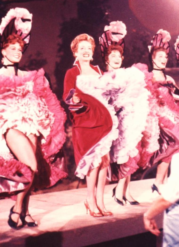 """Danse avec les STARS"" (part 2) (de haut en bas) Sheree NORTH / Pearl BAILEY and Cab CALLOWAY / Ann MILLER / Bette DAVIS / Eleanor POWELL / Debbie REYNOLDS and Tony RANDALL / Ginger ROGERS / Mitzi GAYNOR"