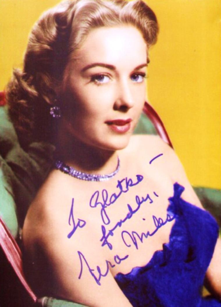 Vera MILES pictures (part 2).