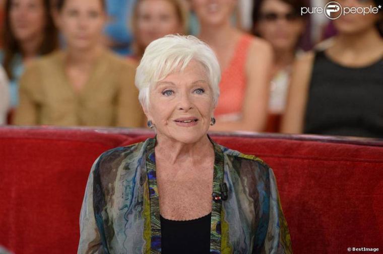 Aujourd'hui, Line Renaud fête ses 86 ans. Bon anniversaire à cette grande dame !