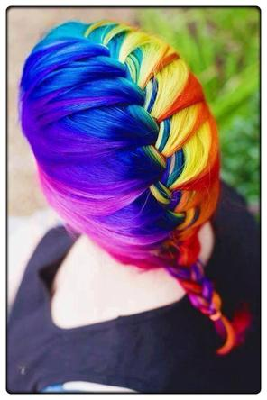 ●●●● DYED HAIR STYLE ●●●●