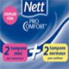Nett / échantillons de tampons
