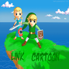 link cartoon