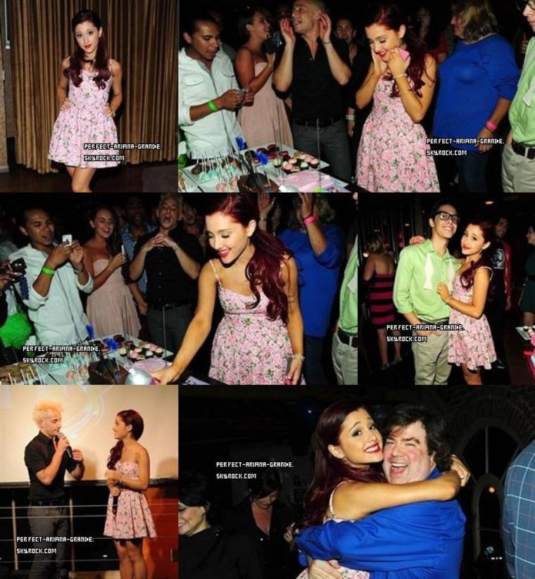 Des photos de l'anniversaire à Ariana ! Vos avis ?