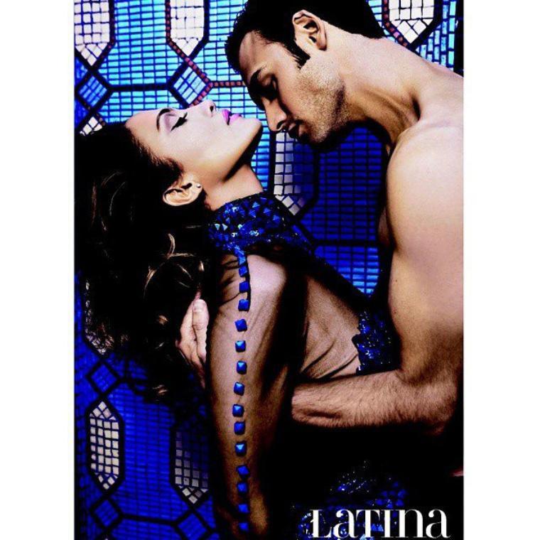 "Photoshoot pour le magazine ""Latina"""