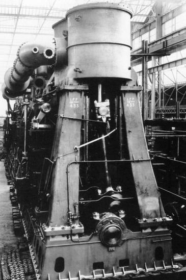 Titanic Engine Room Scene: Les Machines Qui Ont Servis à Propulser Le Titanic