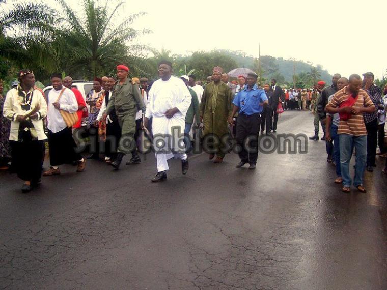 Cameroun Menoua : Une mission du Minatd pour résoudre le conflit  de compétence  territoriale qui oppose Dschang et Santchou sur le village Nteingue