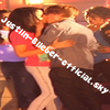 "Justin and Jasmine kissed. On the set of ""Baby""."