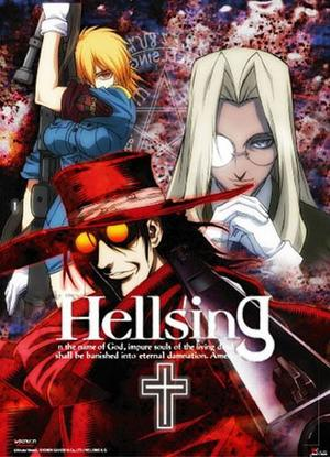 Manga/Anime Hellsing Genre : Seinen[Action, Drame, Horreur, Epouvante, Mystère et Surnaturel]