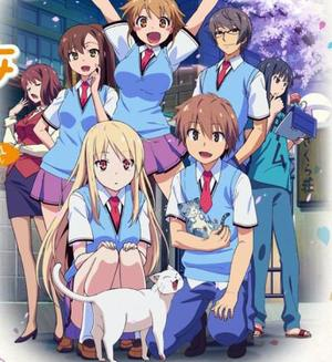 Manga/Anime   Sakurasou no Pet na Kanojo  Genre : Seinen [Ecole, Amitié, Comédie et Romance]