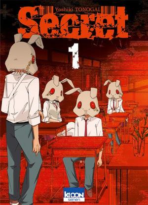 Manga  Secret Genre : Shonen[Drame, Horreur et Thriller psychologique]