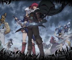 Anime Madan no Ô to Vanadis Genre : Seinen[Romance, Aventure Ecchi, Harem, Fantastique et Médiéval ]