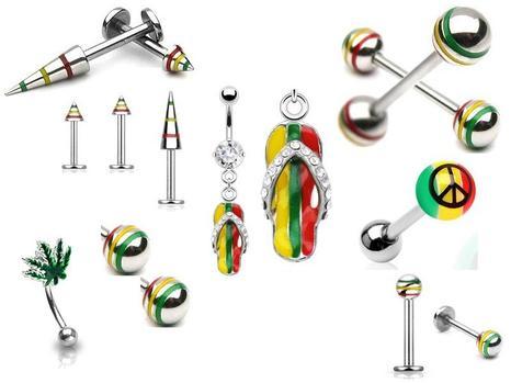 mes piercings special rasta les bijoux fantaisies de manon. Black Bedroom Furniture Sets. Home Design Ideas