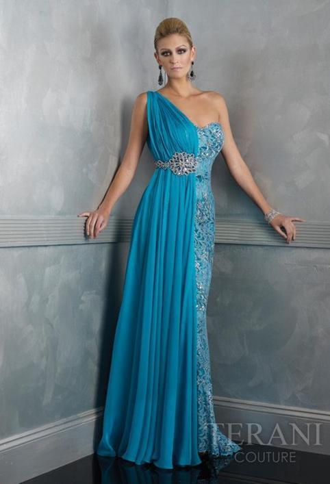 robe du soir d esse grecque de terani couture t 36 robe de soiree et de mariee haute. Black Bedroom Furniture Sets. Home Design Ideas