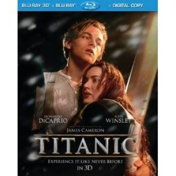 """""""Titanic"""" débarque en Blu-Ray 2D et 3D (: <3"""