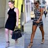 .  LES MEMES CHAUSSURES ! Hilary Duff VS Rihanna .