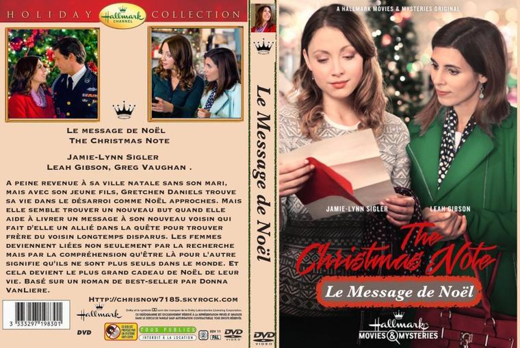 The Christmas Note.Le Message De Noel The Christmas Note 2015 Hallmark