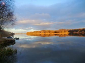 Lac du Der, Brochet et paysages.
