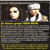 OK (Croatie) : Pour les fans de Tokio Hotel