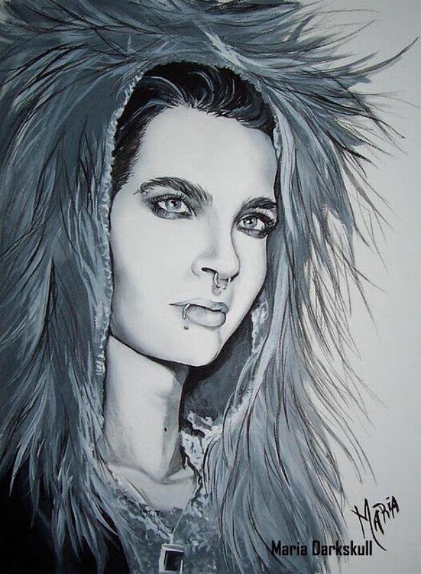 Peinture par Maria DarkSkull