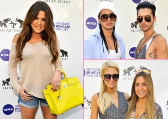 "Khloe Kardashian's ""Goodbye Cellulite, Hello Bikini"" Party"
