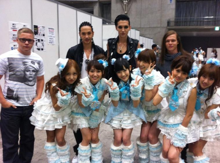 25 Juin 2011 - Tokyo (Japon)  - Backstage