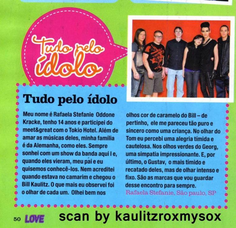 LoveTeen nº 68/2011 (Brésil)