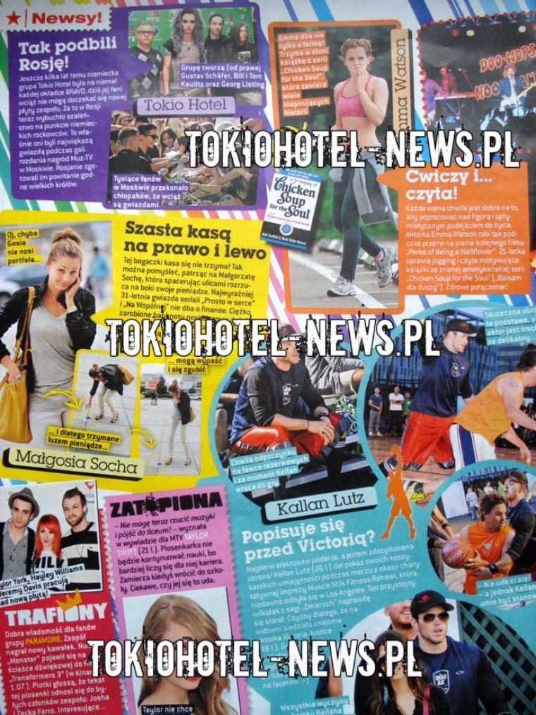 Bravo n° 13/2011 (Pologne) - Ils conquièrent la Russie !