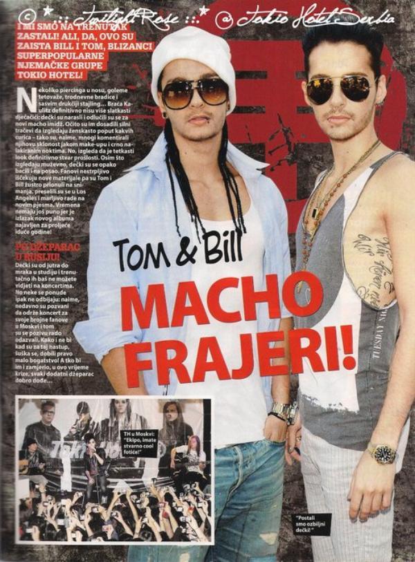 """""""Ok"""" n° 235 (Croatie) - Tom et Bill : de chauds machos !"""