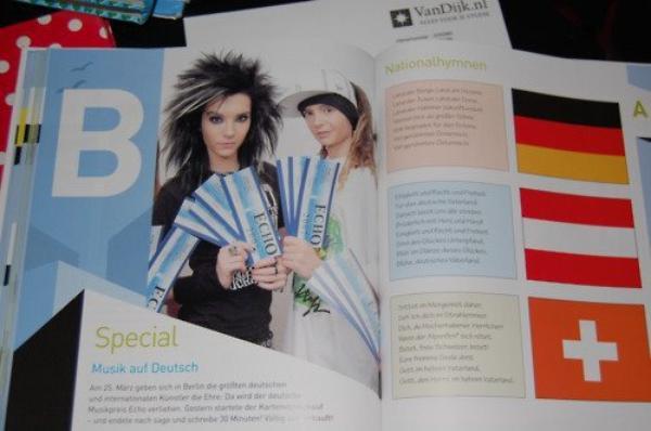 Bill et Tom dans un livre scolaire allemand :)