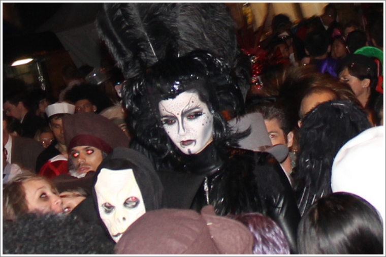 Bill, cet Halloween, dans West Hollywood :)
