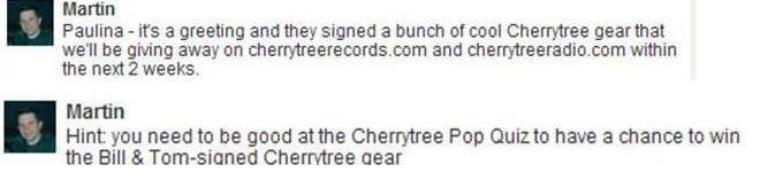 Prochainement sr Cherrytreerecords.com !!!! - Un Concours :)