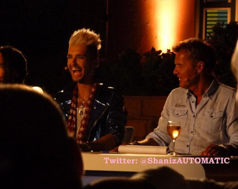 Bill et Tom à Willemstad, à Curaçao (7.11.12)