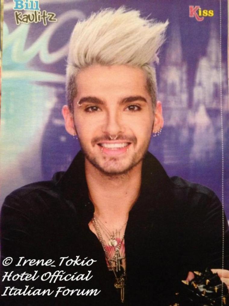 Poster de Bill dans KISS Magazine #75/2012 - Italie