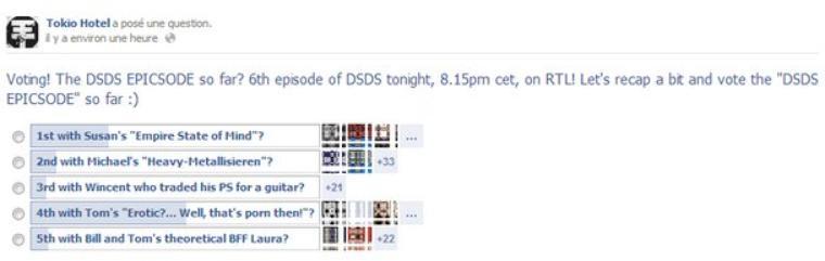 Facebook: Nouvel album de Tokio Hotel en 2013 ? OUI !