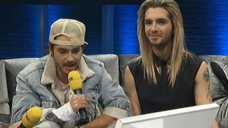 Chat vidéo de Bill et Tom Kaulitz (15.03.13)