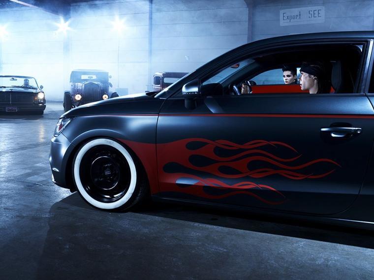 2010 - Photoshoot : Audi A1 à Hamburg (Allemagne)