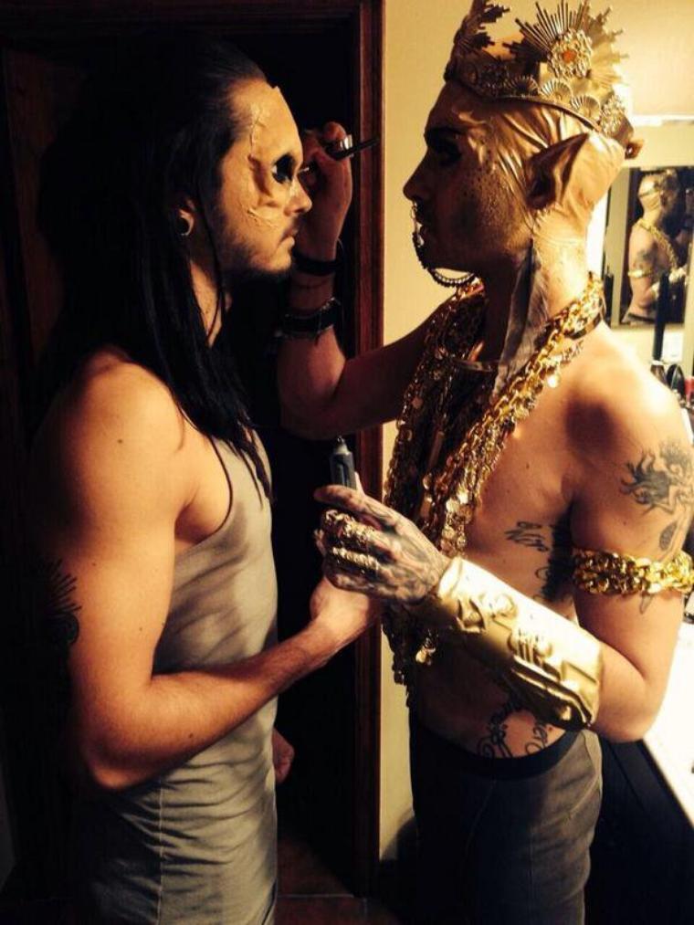Tom et Bill Kaulitz - Halloween 2013